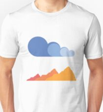 Mountains and Clouds Unisex T-Shirt