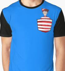 Wally / Waldo is in my pocket Graphic T-Shirt
