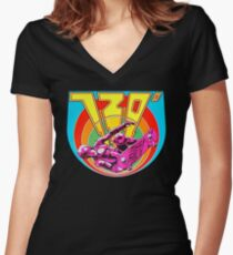 720 Degrees - Skateboard arcade game Women's Fitted V-Neck T-Shirt