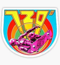 720 Degrees - Skateboard arcade game Sticker