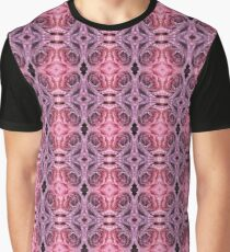 7. Nature Lover: Drops on Rose Graphic T-Shirt