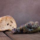 Bread & Asparagus by Antonio Arcos aka fotonstudio