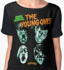 THE YOUNG ONES Nasty Chiffon Top