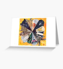 Circle of Friends Greeting Card