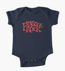 Fraggle Rock - Vintage style in RED Muppet  One Piece - Short Sleeve