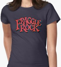 Fraggle Rock - Vintage style in RED Muppet  Womens Fitted T-Shirt