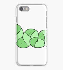 cartoon bored snake iPhone Case/Skin