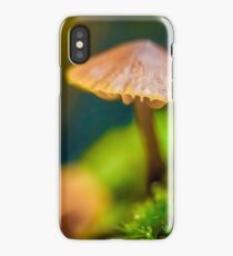 It's a Small World Mushroom photograph iPhone Case/Skin