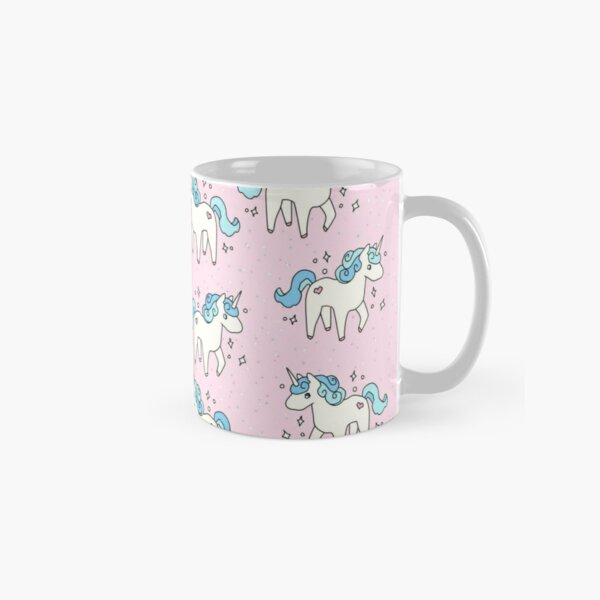 Unicorn Scatter Pattern Classic Mug