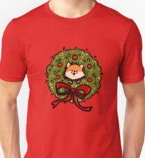 Christmas Bush Shiba Inu T-Shirt