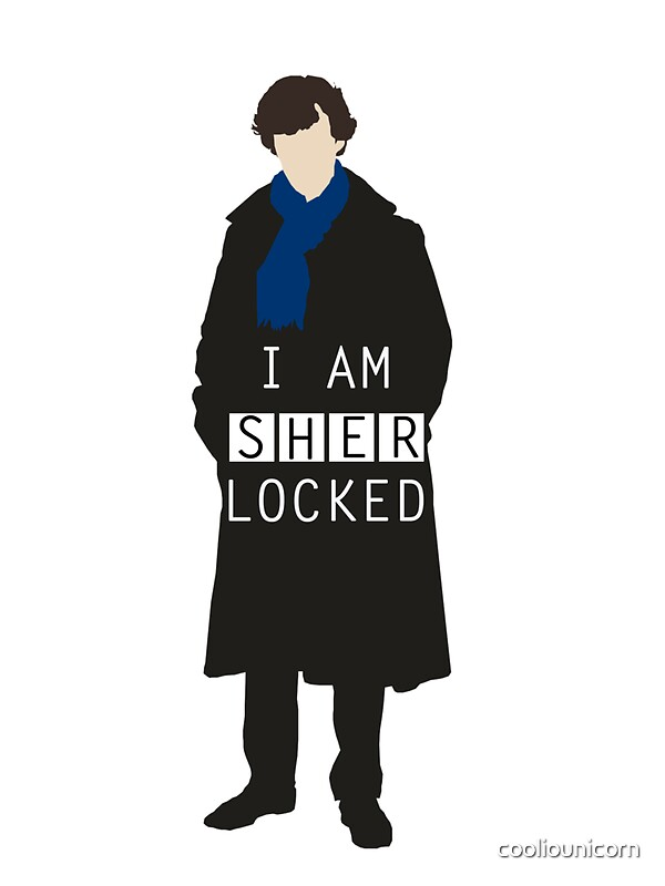 Quot I Am Sherlocked Quot Stickers By Cooliounicorn Redbubble