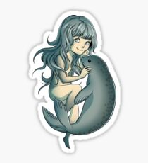 Selkie - Mythical Sea Creature Sticker