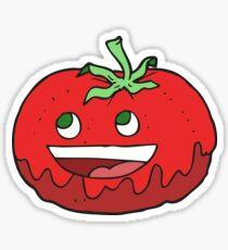 cartoon tomato Sticker