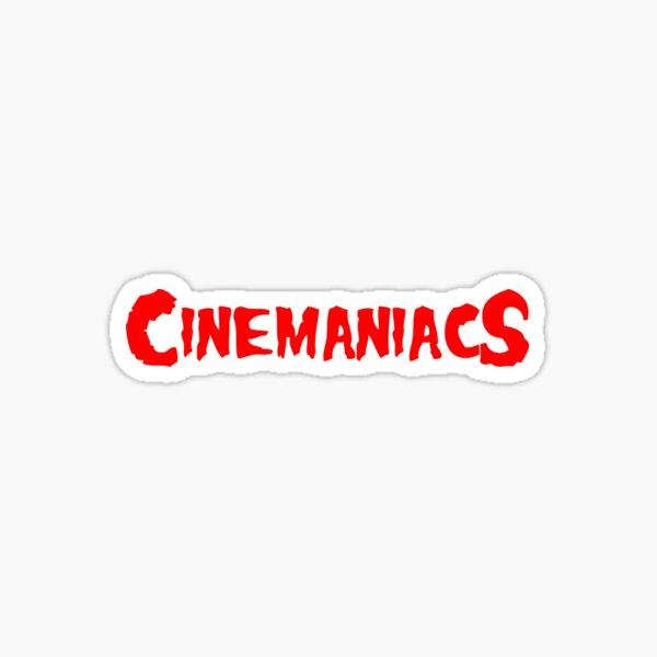 CINEMANIACS Sticker