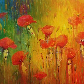 Poppies Ladies XI by klozowski