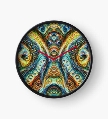 Gothic Style #DeepDream Clock