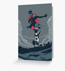 Rodney Mullen Greeting Card