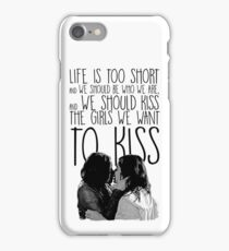 Sanvers - Alex and Maggie  iPhone Case/Skin