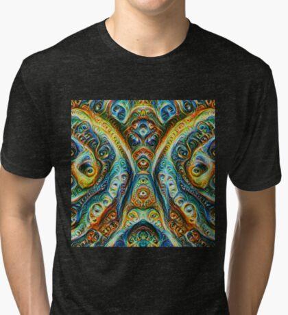 Gothic Style #DeepDream Tri-blend T-Shirt