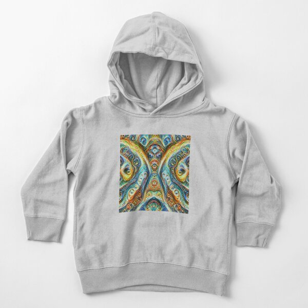 Gothic Style #DeepDream Toddler Pullover Hoodie
