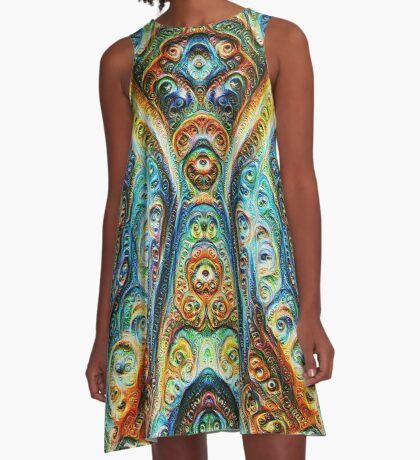 Gothic Style #DeepDream A-Line Dress