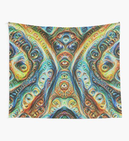 Gothic Style #DeepDream Wall Tapestry