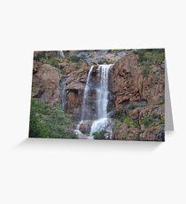 Bisbee Waterfall Mule Mountains Az - September 2014 Greeting Card