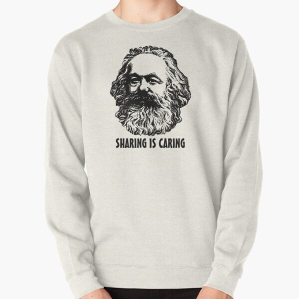 Sharing is caring Pullover Sweatshirt