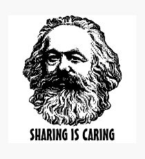 Sharing is caring Photographic Print