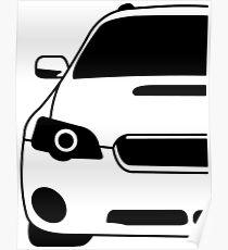Fourth Generation Subaru Legacy Poster