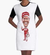 Sebastian Vettel 2017 Graphic T-Shirt Dress