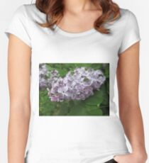 Lilac 4 Women's Fitted Scoop T-Shirt