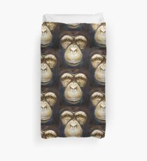 primate-chimpanzee Duvet Cover