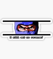 Ninja Revenge Sticker