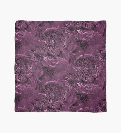 Purple Chaos Abstract Design Scarf