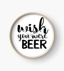 Wish You Were Beer Clock