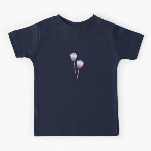 Pastel Tulips Kids T-Shirt