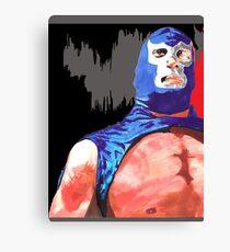 Blue Demon Jr.  Canvas Print