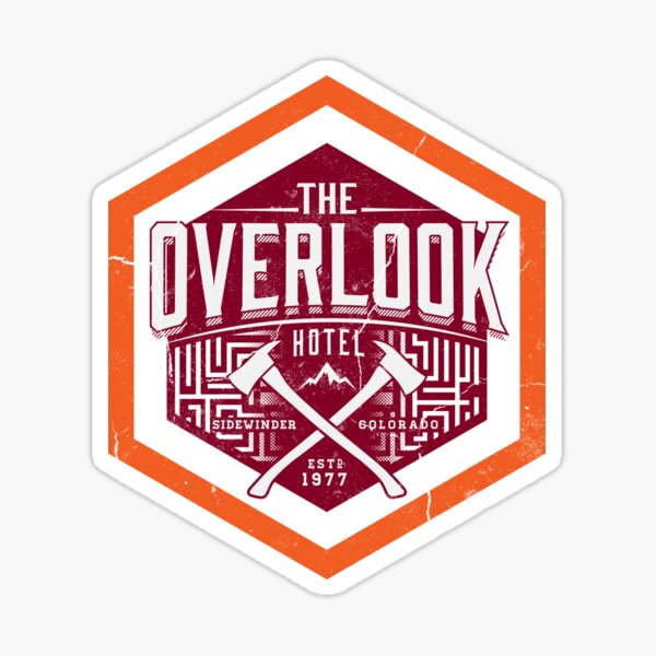 The Overlook Sticker