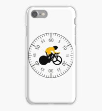 Time Trial - Race Against the Clock iPhone Case/Skin