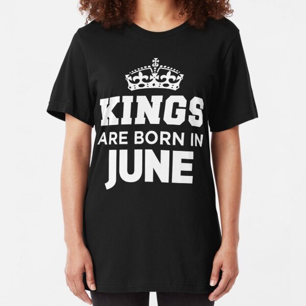 Queens Are Born In July Fitted Cotton T-Shirt Birthday Present Gemini Leo