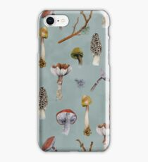 Mushroom Forest Collecting Party iPhone Case/Skin