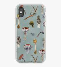 Mushroom Forest Collecting Party iPhone Case