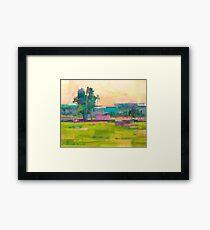 Field X Framed Print