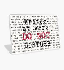 Writer at Work Laptop Skin