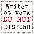 Writer at Work by Geckojoy