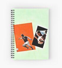 Mad ball handling Spiral Notebook