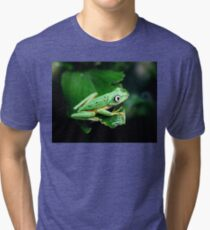 Watching from behind the glass Tri-blend T-Shirt