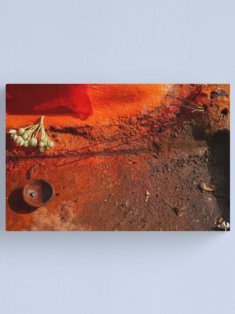 Alternate view of in a holy place Canvas Print