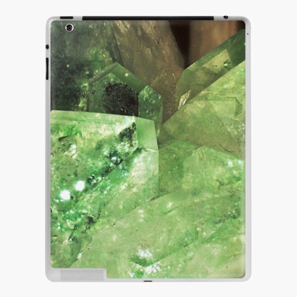 Green Glitter (Apophyllite) iPad Skin